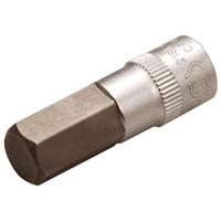 Bit-Einsatz, Innen-6-kant, 6,3 (1/4), 10 mm