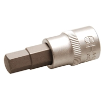Bit-Einsatz, 10 (3/8), Innen-6-kant, 9 mm