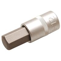Bit-Einsatz, 10 (3/8), Innen-6-kant, 12 mm