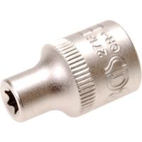 Steckschlüssel-Einsatz für E-Profil, E7, 10 (3/8)
