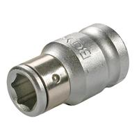 Adapter mit Haltekugel, 10 (3/8), für 8 mm Bits