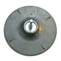 Gummistützscheibe, 125 mm