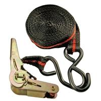 Knarren-Spannband | mit 2 schweren Haken | 5 m x 24 mm