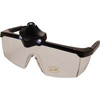 Schutzbrille, mit LED Beleuchtung