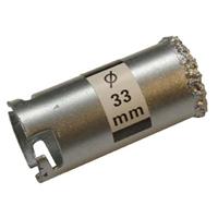 Bohrkrone für Fliesenlochbohrsatz, 33 mm