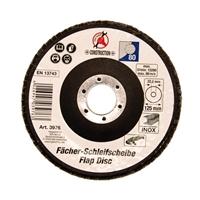 Fächer-Schleif-Scheibe, Ø 125 mm, Körnung 80