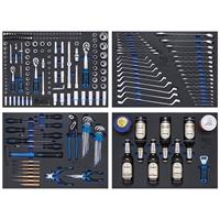 Werkstattwagen | 8 Schubladen | mit 263 Werkzeugen