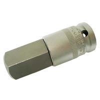 Bit-Einsatz 12,5 (1/2), Innen-6-kant, 70 mm lang, 22 mm