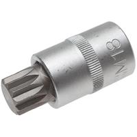 Bit-Einsatz, Innenvielzahn M18 x 55 mm, 12,5(1/2)