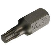 T-Profil Bit ohne Bohrung, 30 mm lang, T30, 10 (3/8)