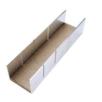 Aluminium-Gehrungslade, 245x65x55 mm