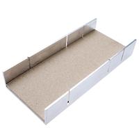 Aluminium-Gehrungslade, 245x106x44 mm