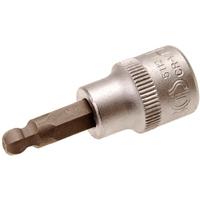 Bit-Einsatz, 5 mm Innensechskant, 10 (3/8), mit Kugelkopf