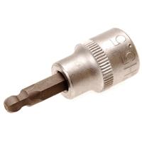 Bit-Einsatz, 5,5 mm Innensechskant, 10 (3/8), mit Kugelkopf