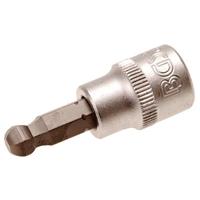 Bit-Einsatz, 8 mm Innensechskant, 10 (3/8), mit Kugelkopf