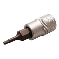 Bit-Einsatz 6,3 (1/4), Innen-6-kant, 2 mm
