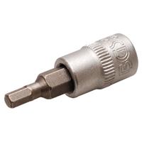 Bit-Einsatz 6,3 (1/4), Innen-6-kant, 3,5 mm