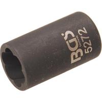 Spezial-Steckschlüsseleinsatz / Schraubenausdreher, 10 (3/8), 12 mm