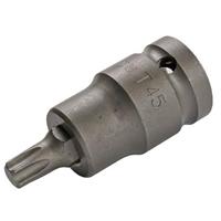 """Kraft T-Profil Torx Schrauben Nuss T45 Steckschlüssel Dreher Werkzeug 1/2"""" Nüsse"""