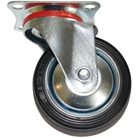 Lenkrolle 75 mm, mit Anschraubsockel