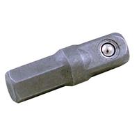 Adapter für 6,3 (1/4) Bits, 4-kant auf 6-kant, 30 mm