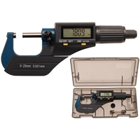 Digital-Bügelmessschraube, 0 - 25 mm