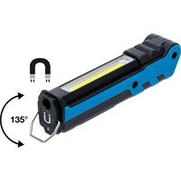 COB LED Akku Knicklampe, 5W Handlampe, magnetisch