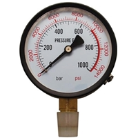 Manometer für Werkstattpresse Art. 9246
