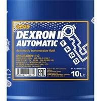 MANNOL Dexron II Automatic, 10 Liter