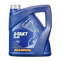 MANNOL 2-Takt Plus Motorrad und Roller Öl API TC 4 Liter