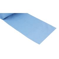 "2x Putzrolle blau 2-lagig 22x38 cm ""MINI-500"""