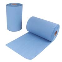 """Putzrolle blau 2-lagig 36x38 """"MAXI-500"""", 2 Teilig"""