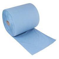 "Putzrolle blau 3-lagig 36x38 ""MAXI-1000"""