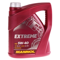 SCT Germany Ölfilter + Mannol Extreme 5W40, 5 Liter