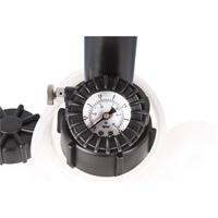 TECPO Bremsenentlüftungsgerät Bremsflüssigkeit 4L+ 1L + Bremsleitungsschlüssel 8-19 mm