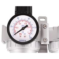 Druckluft Wartungseinheit mit Druckregler mit Öler