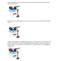 2in1 Absaugpumpe und Einfüllgerät, 9.5 Liter