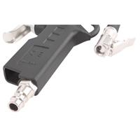 TECPO Druckluft Reifenfüllpistole 0-12 Bar