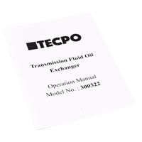 TECPO Profi ATF Spülgerät Automatikgetriebeöl wechseln mit Adaptern