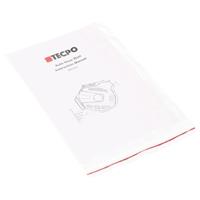 TECPO Druckluftschlauch 15 Meter + 1.5 Meter, Wandmontage mit Zubehör