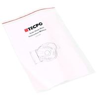 TECPO Druckluftschlauch Aufroller, automatisch 10m + 1.5m