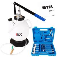 TECPO Getriebeöl-Einfüllgerät, Öleinfüllgerät 7.5 L, 13 Adapter