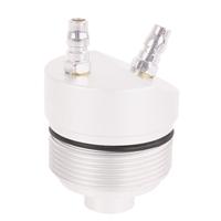TECPO ATF Automatikgetriebeöl Spülgerät, Zusatz-Adaptern, 9-teilig