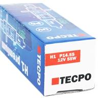 TECPO H1 Glühbirnen 12V 55W  P14.5S