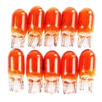 TECPO Glühbirnen WY5W 12V 5W Blinkerbirnen, 10 Stück