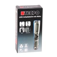 TECPO LED Inspektionsleuchte 500 Lumen mit USB Ladekabel, magnetisch