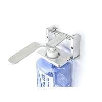 3x Universal Flüssigkeitsspender Desinfektionsmittelspender Wandhalterung