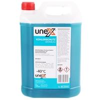 UNEX Kühlerfrostschutz Grün/Blau, 5 Liter