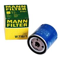Mann Filter W716/1 Ölfilter für PSA Citröen Peugeot