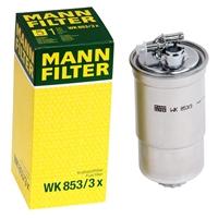 Mann Filter WK853/3x Kraftstofffilter für VAG VW Audi Seat Skoda